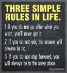 Rules for Life and Relationships, Interesting People and AmazingOpportunities