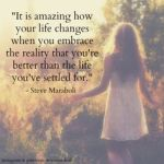 Embracing My Reality